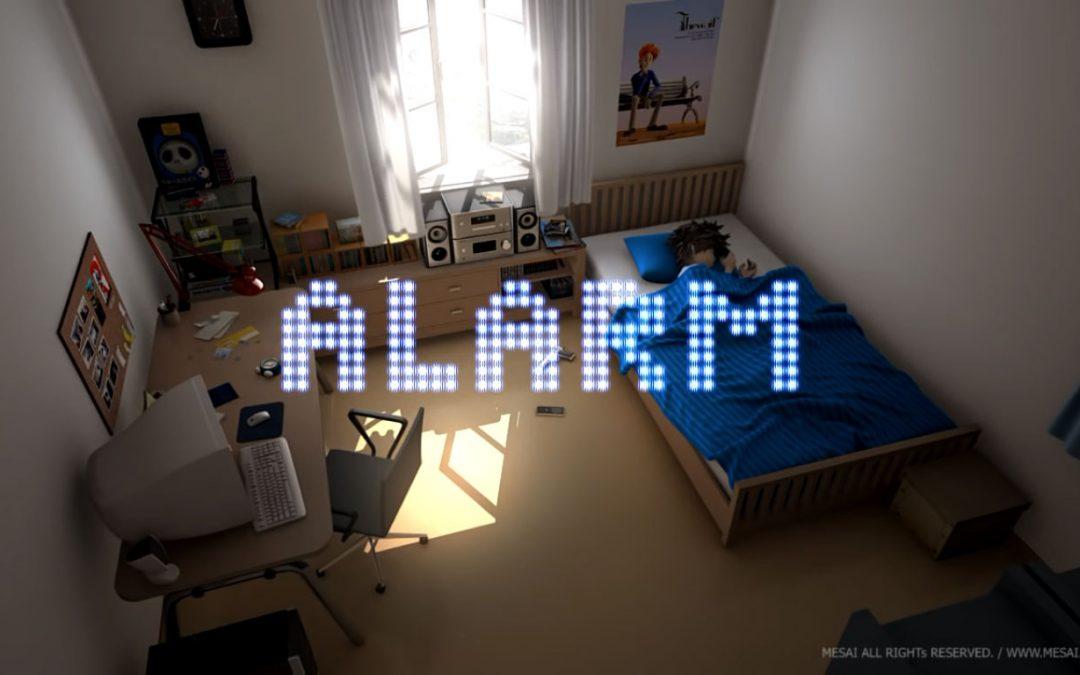 انیمیشن کوتاه Alarm