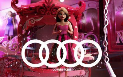 انیمیشن کوتاه تبلیغ شرکت Audi