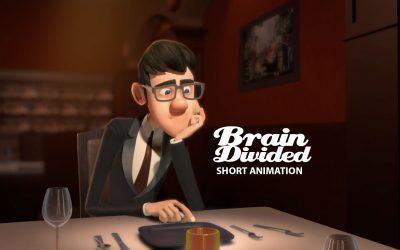 انیمیشن کوتاه Brain Divided