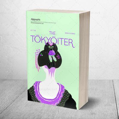 موکاپ روی جلد کتاب