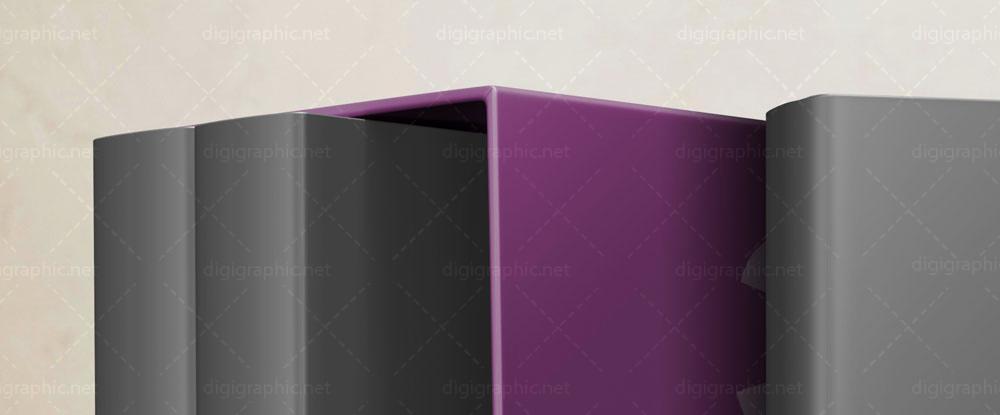 موکاپ جلد کتاب 3 تایی