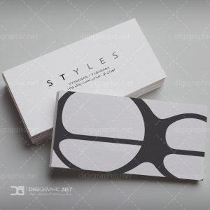 کارت ویزیت فروشگاه عینک فروشی