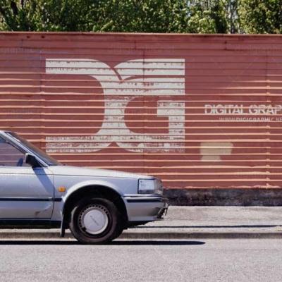 دانلود موکاپ لوگو روی دیوار آجری