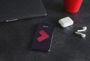 موکاپ صفحه گوشی AppleX