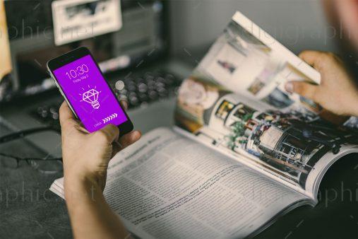 موکاپ زیبای موبایل