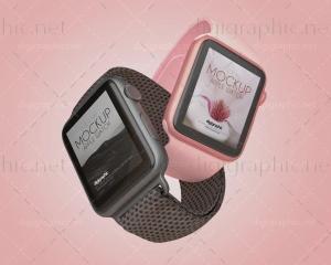 موکاپ ساعت Apple