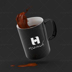 موکاپ لیوان قهوه