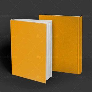 موکاپ جلد کتاب 2 تایی