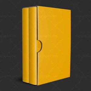 موکاپ کتاب 2 جلدی
