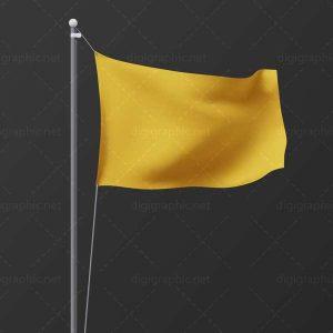موکاپ پرچم کوچک