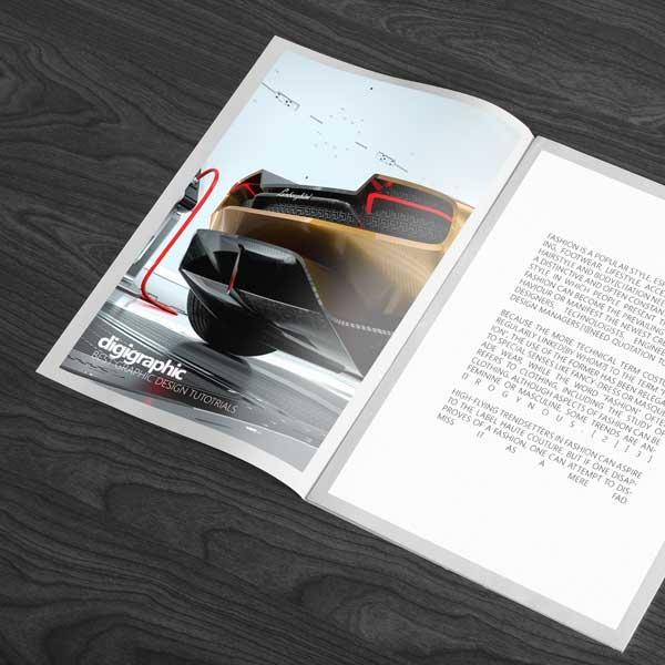 موکاپ صفحات داخلی کاتالوگ