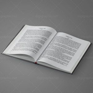 موکاپ کتاب صفحات