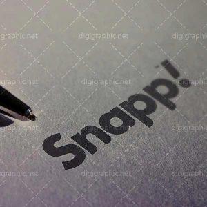 موکاپ لوگو کاغذی