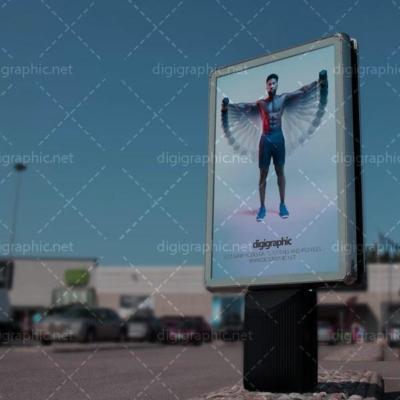 موکاپ بیلبورد ایستگاه اتوبوس
