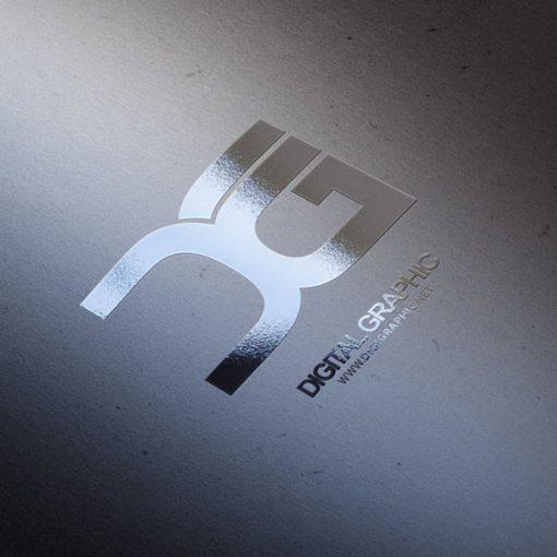 دانلود موکاپ لوگوی یووی براق