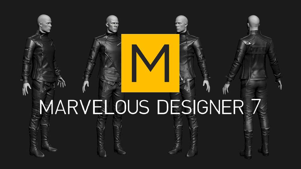 Marvelous Designer7 - نرم افزار طراحی لباس
