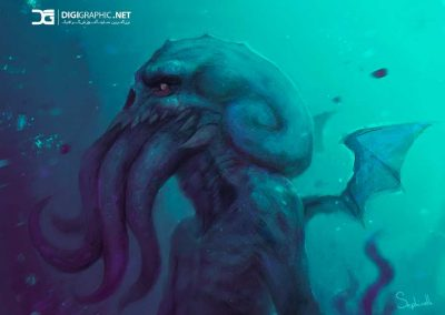 daily_drawing__1___cthulhu_by_sephiroth_art-d9oenpg