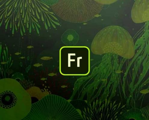 نقاشی آبرنگ در Adobe Fresco