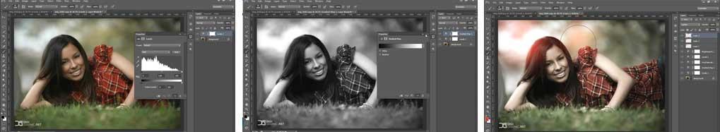آموزش رنگبندی عکس در فتوشاپ
