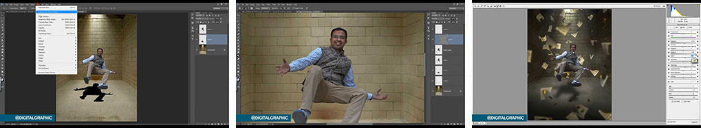 آموزش تلفیق تصاویر در فتوشاپ