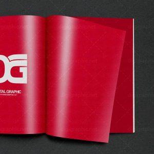 دانلود موکاپ صفحات مجله روغنی