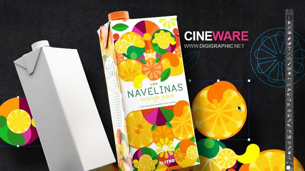 پلاگین رندر سهبعدی Cineware برای ایلوستریتور