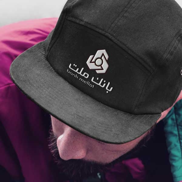 موکاپ کلاه سیاه