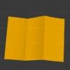 دانلود موکاپ 3 لت باز شده
