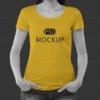 موکاپ تیشرت رنگی دخترانه