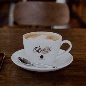 موکاپ فنجان قهوه کافی شاپ