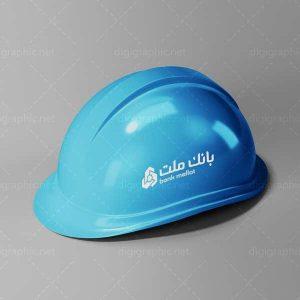 موکاپ کلاه ایمنی ساختمان سازی