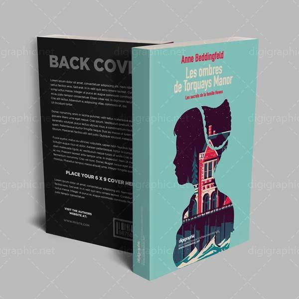 موکاپ پشت و روی جلد کتاب