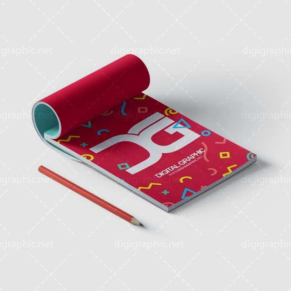 موکاپ دفترچه نقاشی