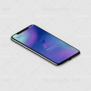 موکاپ زیبای گوشی AppleX
