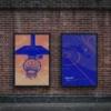 موکاپ پوستر خیابانی