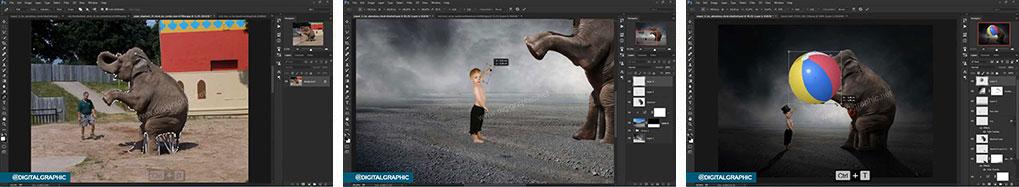 آموزش ساخت یک تصویر غیر واقعی در فتوشاپ