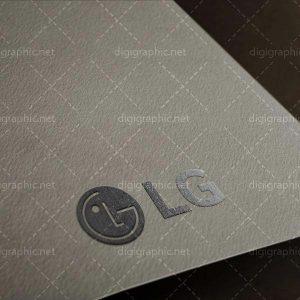 دانلود موکاپ لوگوی طلاکوب روی کاغذ