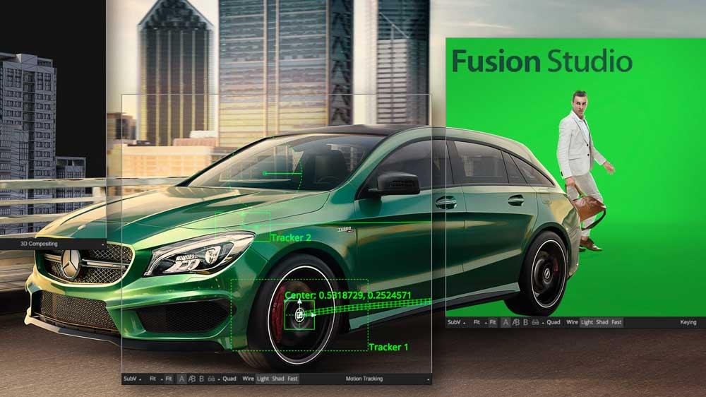Fusion Studio v9 - نرم افزار ساخت جلوه های ویژه