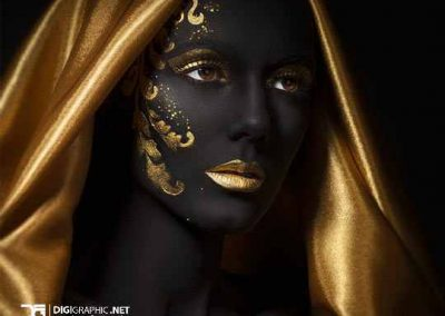 cool-painting-face-black-gold